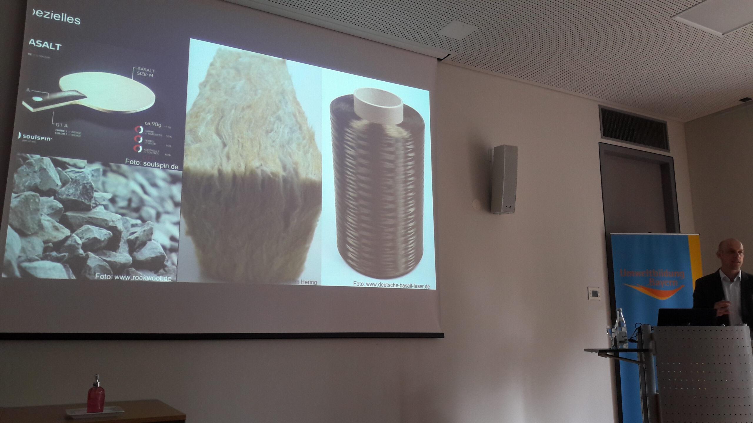 Produkte aus Basalt