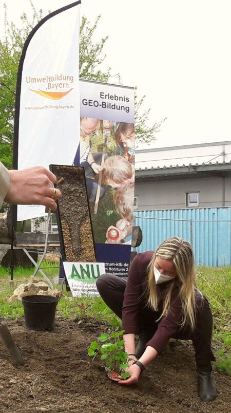 Pflanzaktion Umweltbildung